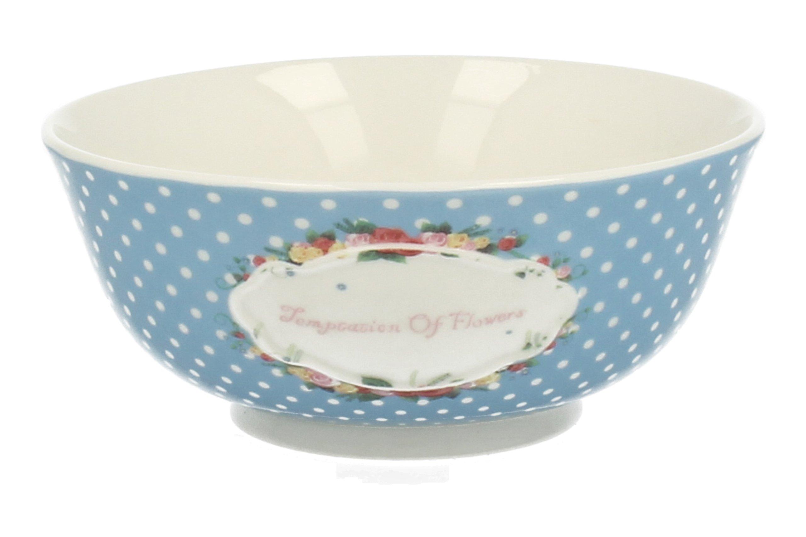 Porcelánovej, Retro modré, 16 cm