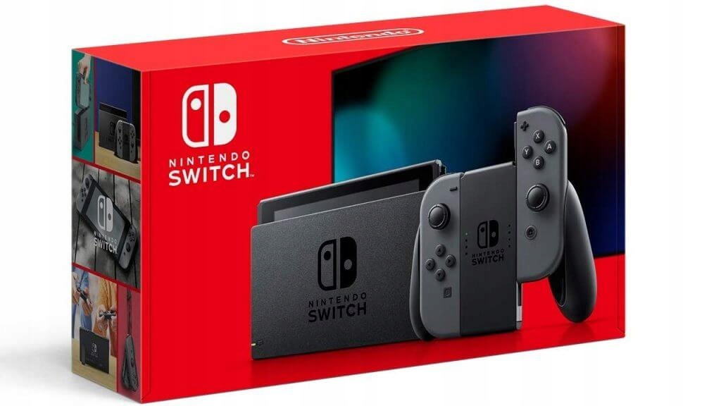 Item Nintendo Switch Grery Grey Model 2019