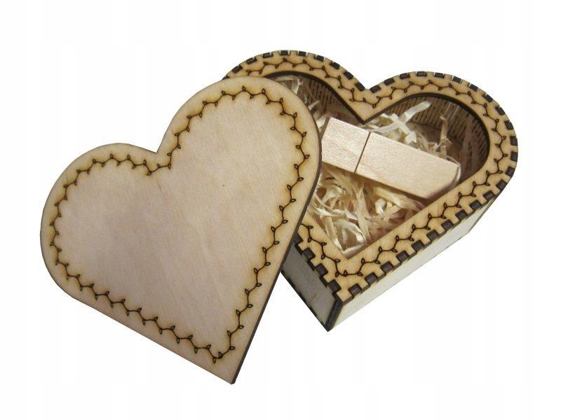 Купить Коробка Сердце с флешки 16GB USB 3.0 + Доставка на Otpravka - цены и фото - доставка из Польши и стран Европы в Украину.