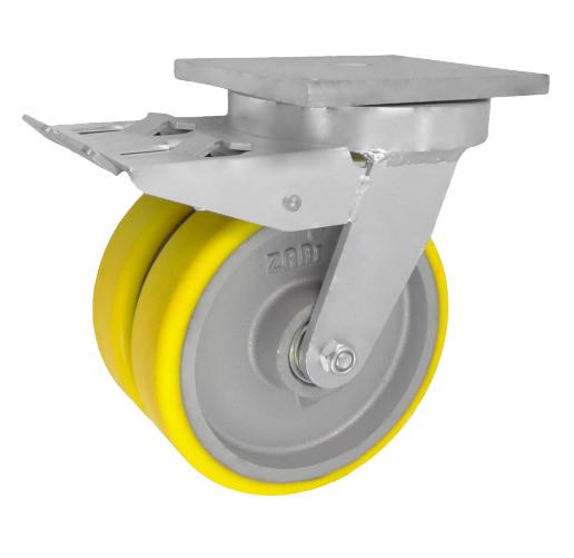 Fi 160 тяжелых чугунных колес тандемы 1400 кг