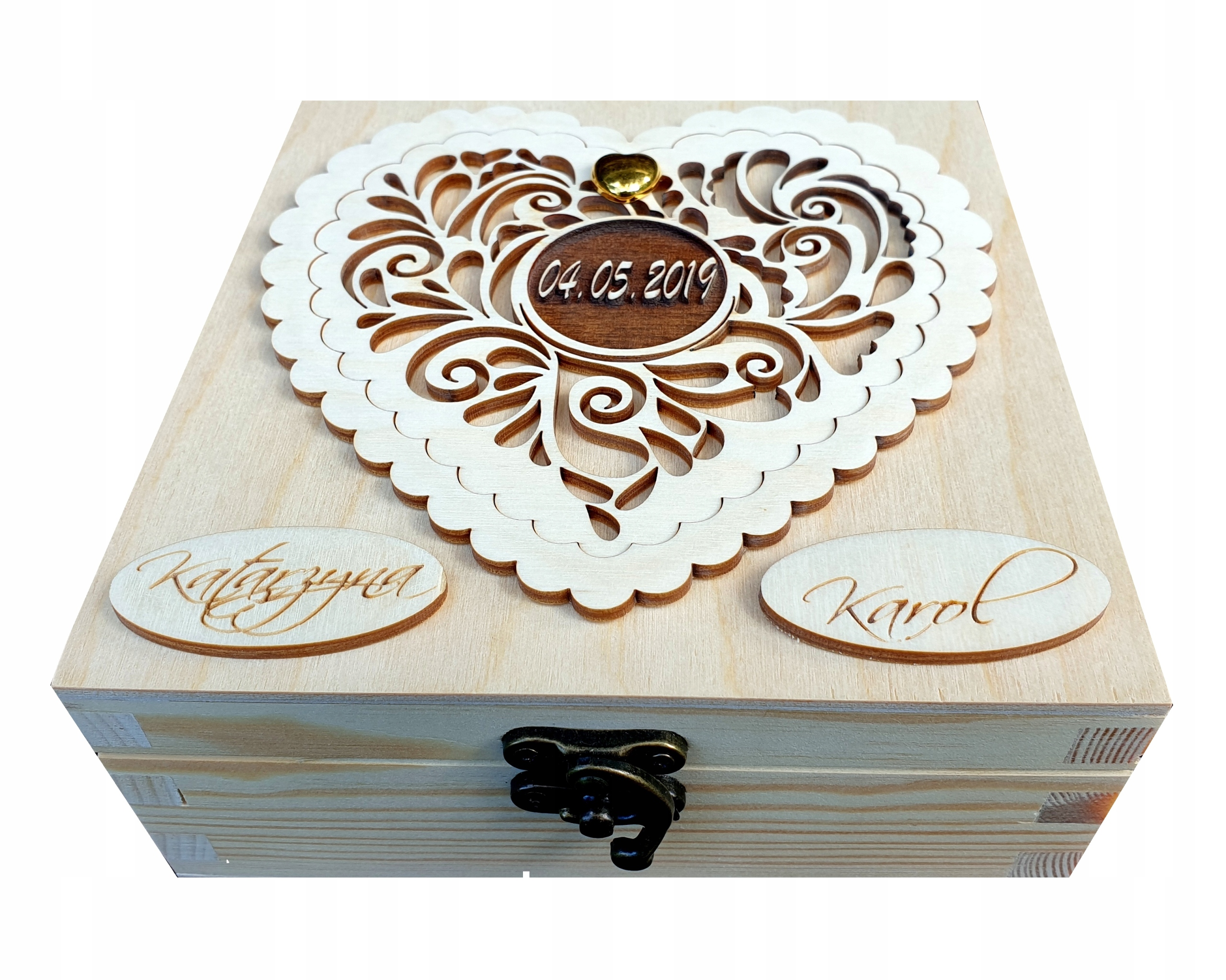 Item Souvenir Wedding Box for Money for the Wedding
