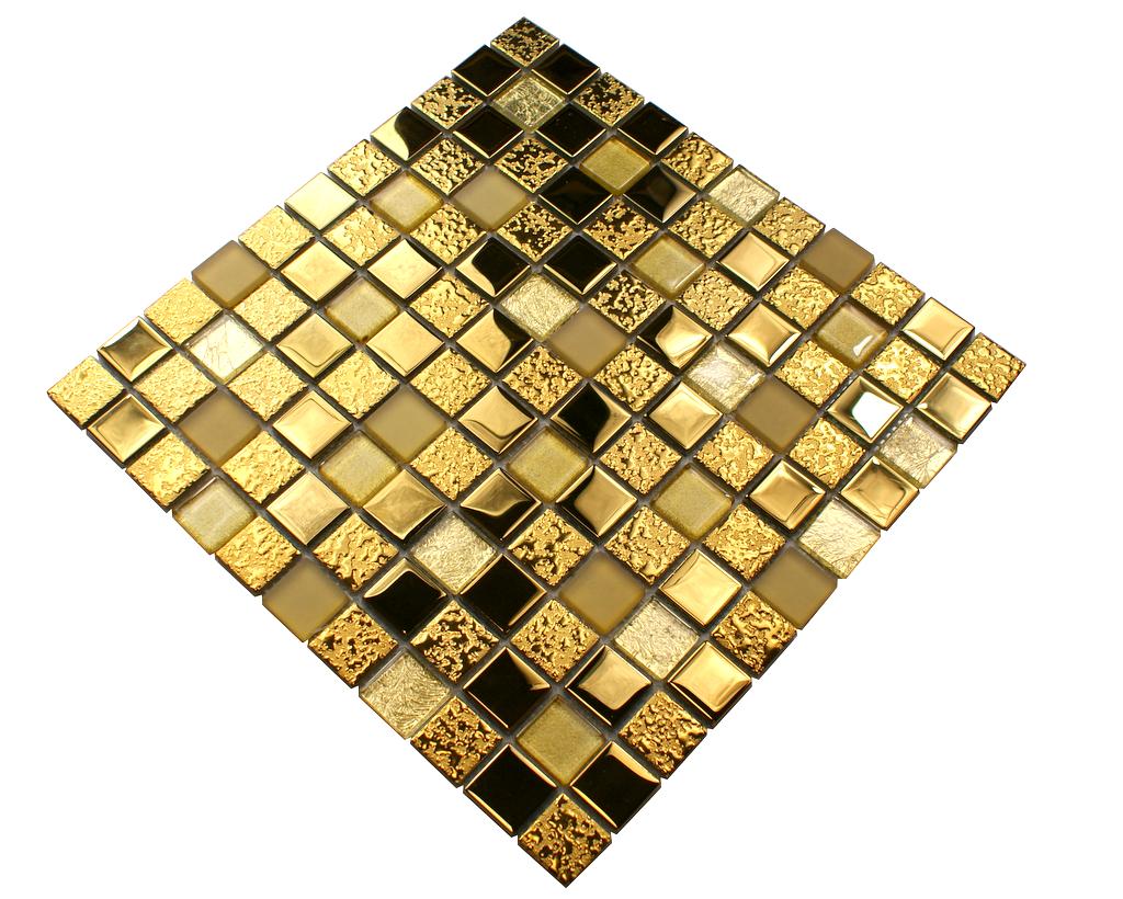 Mozaika szklana złota, płytka złota DUBAJ
