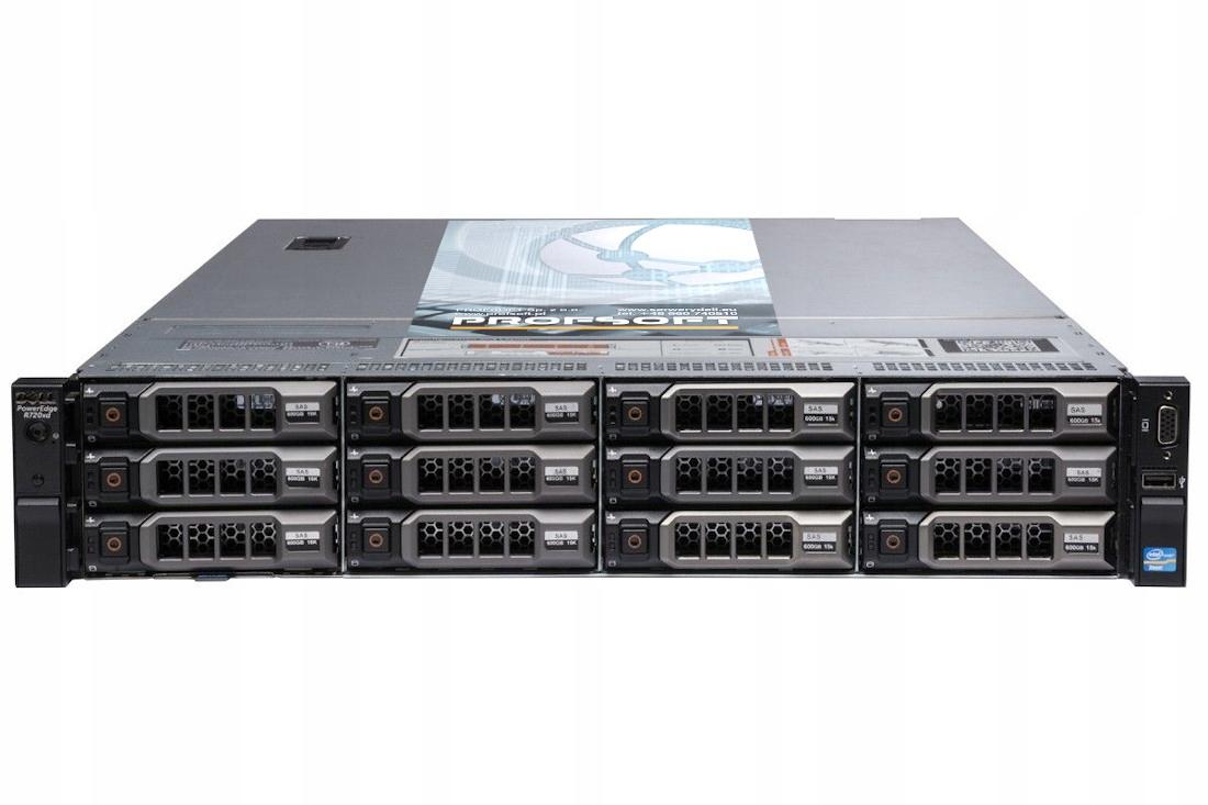 Купить DELL PowerEdge R720XD 2x XEON E5 64GB 3x 8TB SAS на Otpravka - цены и фото - доставка из Польши и стран Европы в Украину.