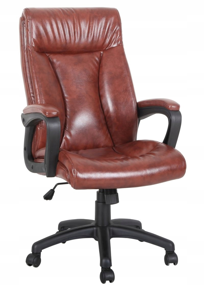 Stolička otočná kancelárska stolička CX-1142H hnedá