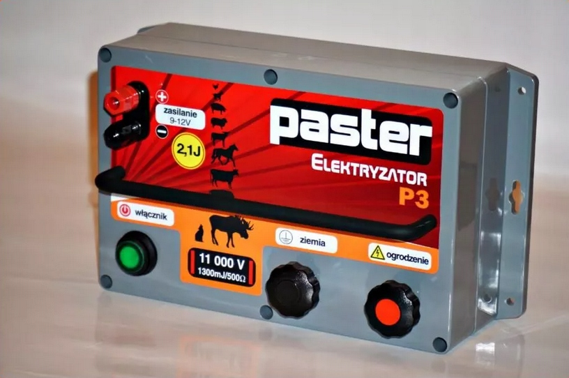 Elektryzator pastier, elektrické PASTEUR P3