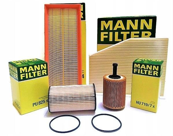 манн комплект фильтры octavia ii superb 19 20 tdi