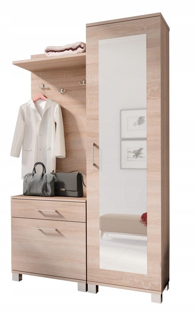 Garderoba szafa wieszak szafka na buty lustro