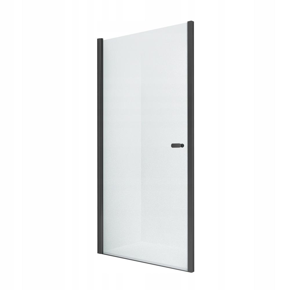NOVINKA sprchové dvere SOLEO BLACK 80x195