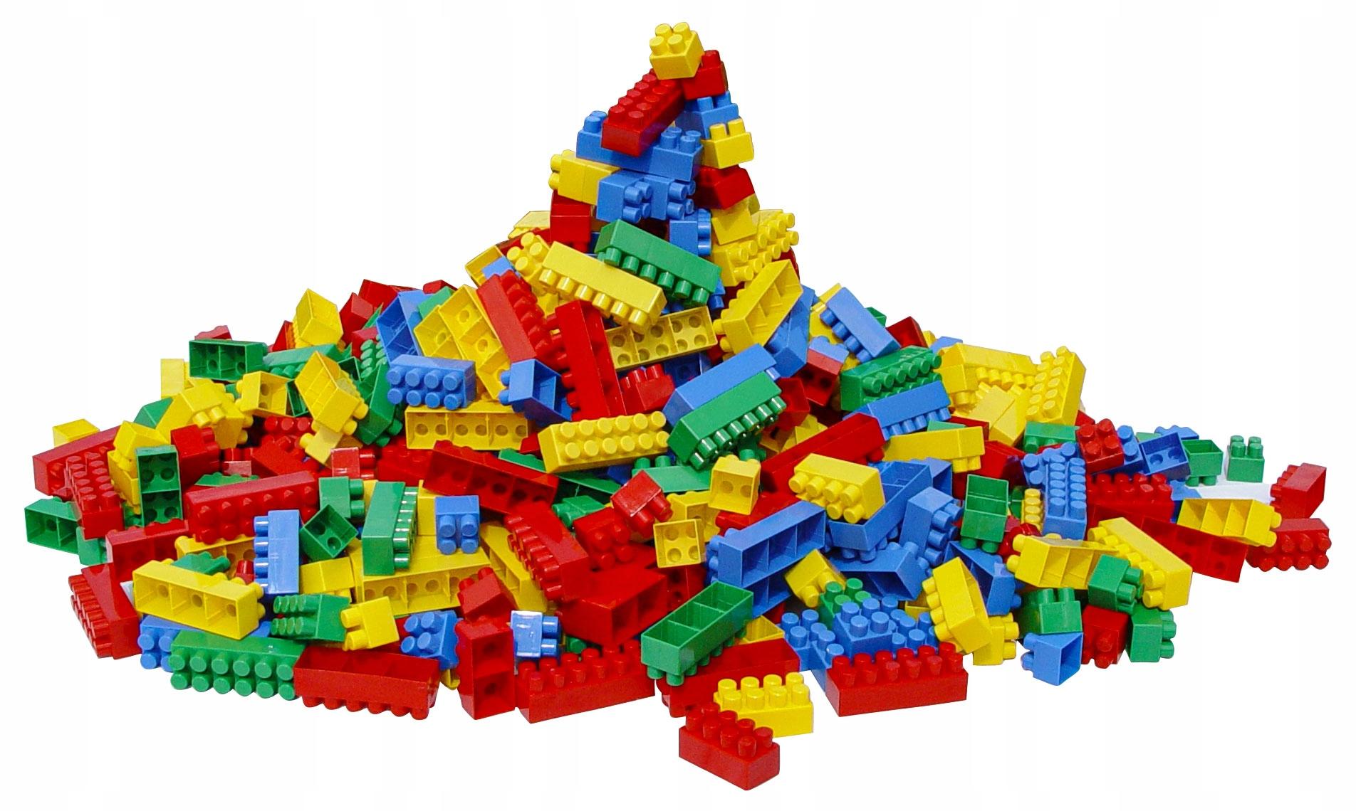 Hemar, kreatívne stavebné bloky K2, 5 kg, hrajte