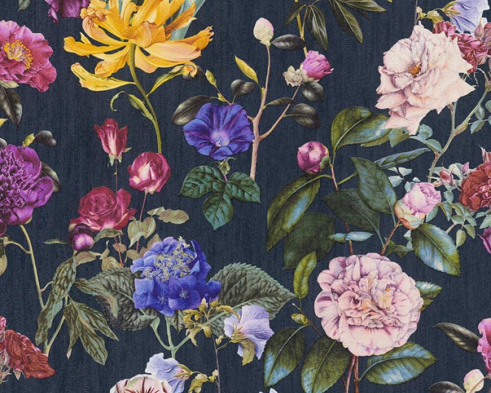 Купить обои обои цветы, розы, листья на Otpravka - цены и фото - доставка из Польши и стран Европы в Украину.