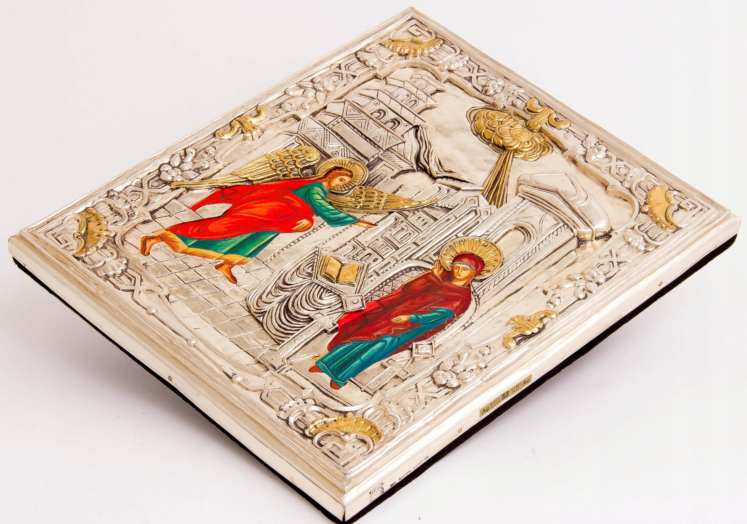 Ikona Zwiastowania Najświętszej Marii Panny Szerokość 28 cm
