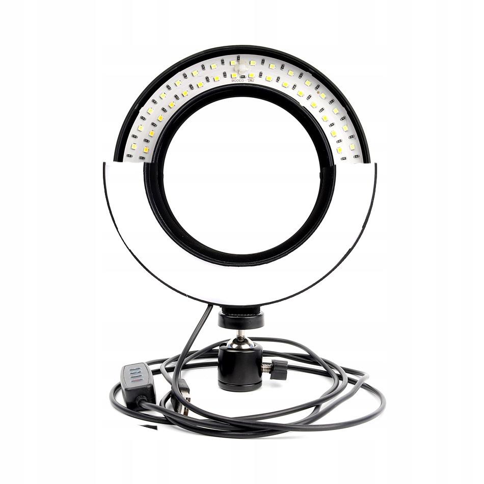 Купить LAMPA PIERŚCIENIOWA 60W MAKIJAŻ RING STATYW 220cm на Otpravka - цены и фото - доставка из Польши и стран Европы в Украину.