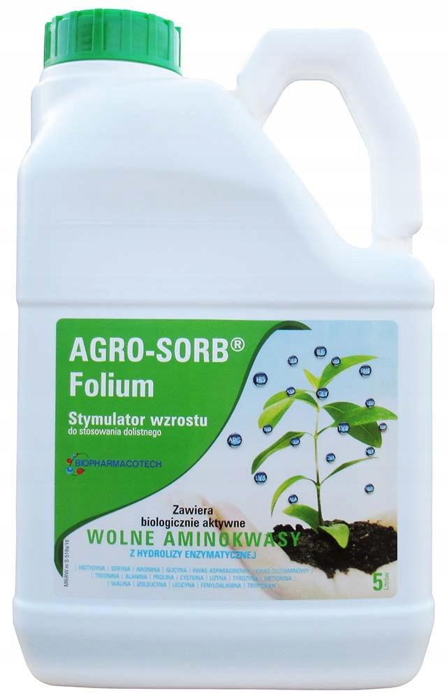 AGRO-SORB 5L FOLIUM Stimulátor rastu, regenerácie