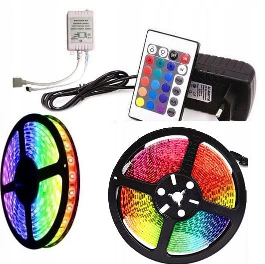 ТАШМА Светодиодные RGB 300 Светодиодные SMD 5м - PILOT - ЗАСИЛАЧ