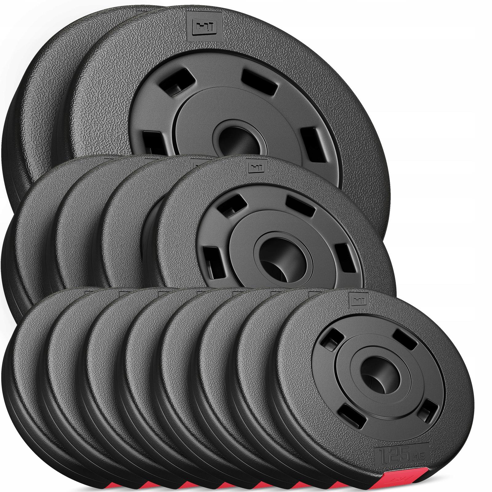 Bodybuildingový súbor 30kg bitúmenových zaťažení