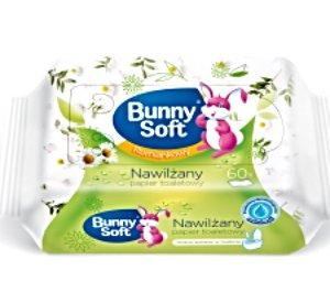 Bunny Soft nawilżany туалетная бумага 60 шт