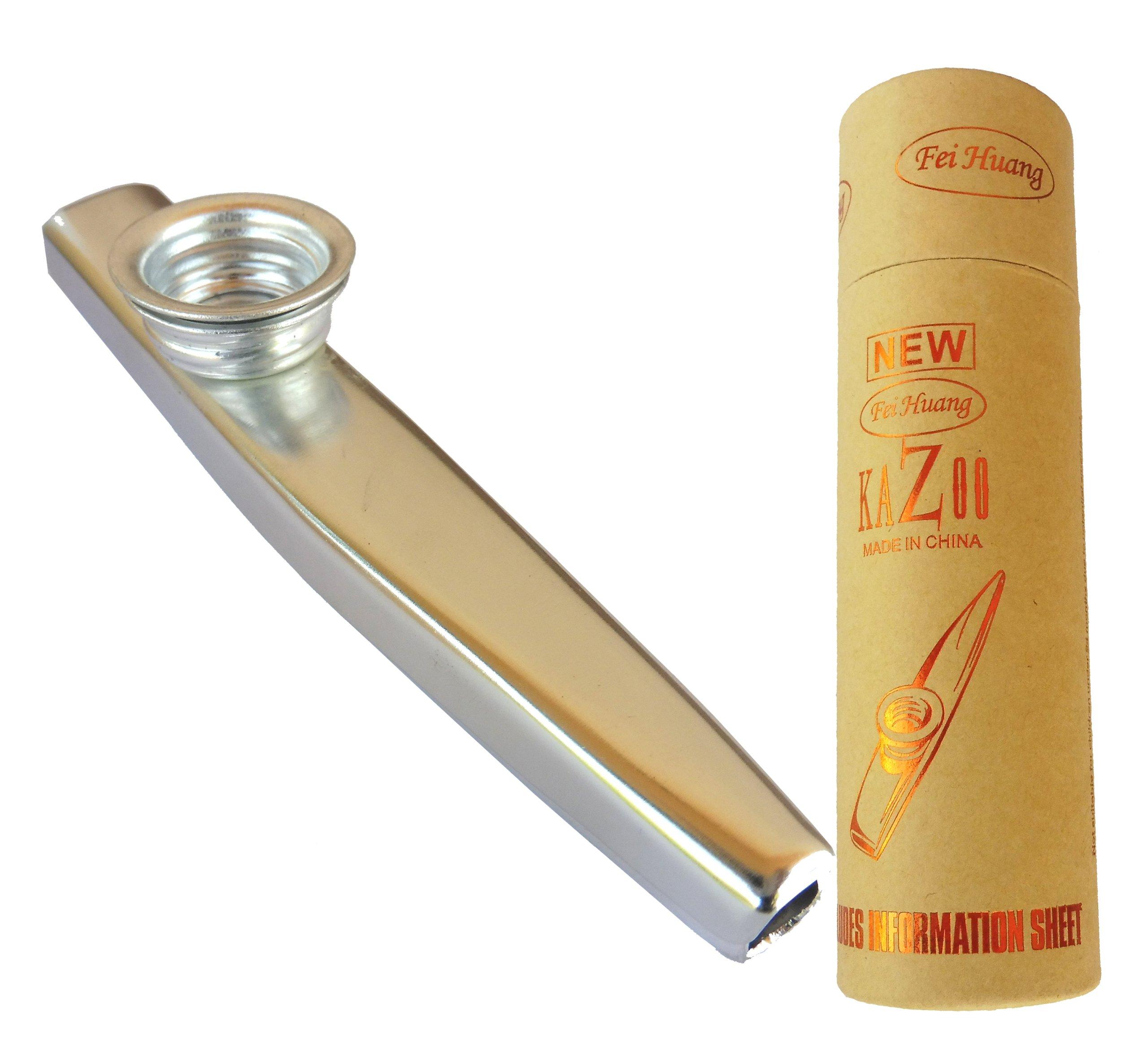 Item Fei Huang K-1S Kazoo mirliton metal + case