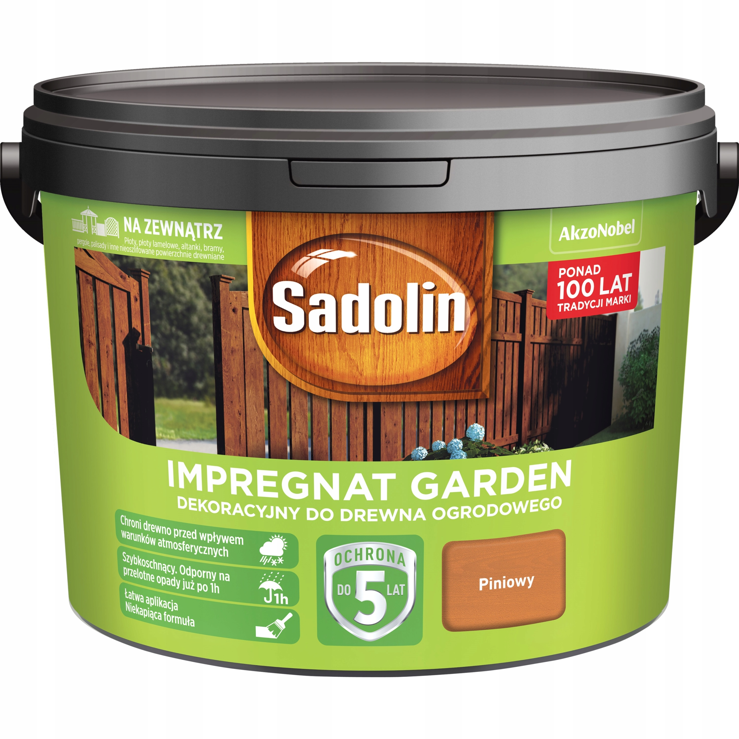 SADOLIN GARDEN - пропитка для дерева, piniowy, 9