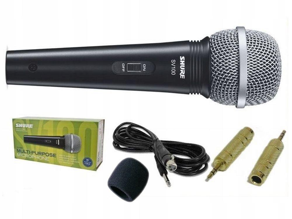 Shure Sv 100 Mikrofon Do Komputera Kabel Gabka Ada 7935589991 Sklep Internetowy Agd Rtv Telefony Laptopy Allegro Pl