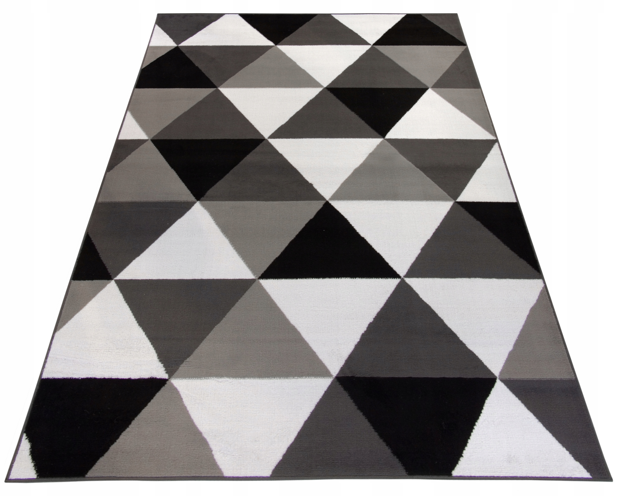 Ciekawy dywan 200x290 geomatryczny wzór modny 8mm 8608991311