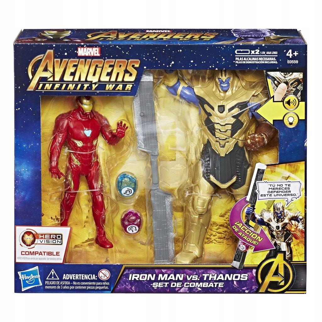 Sada Marvel Avengers Infinit War Thanos Iron Man