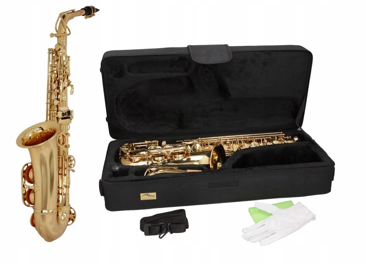 Купить Профессиональный альт-саксофон Es SaxA0110G M-HIT tunes на Otpravka - цены и фото - доставка из Польши и стран Европы в Украину.