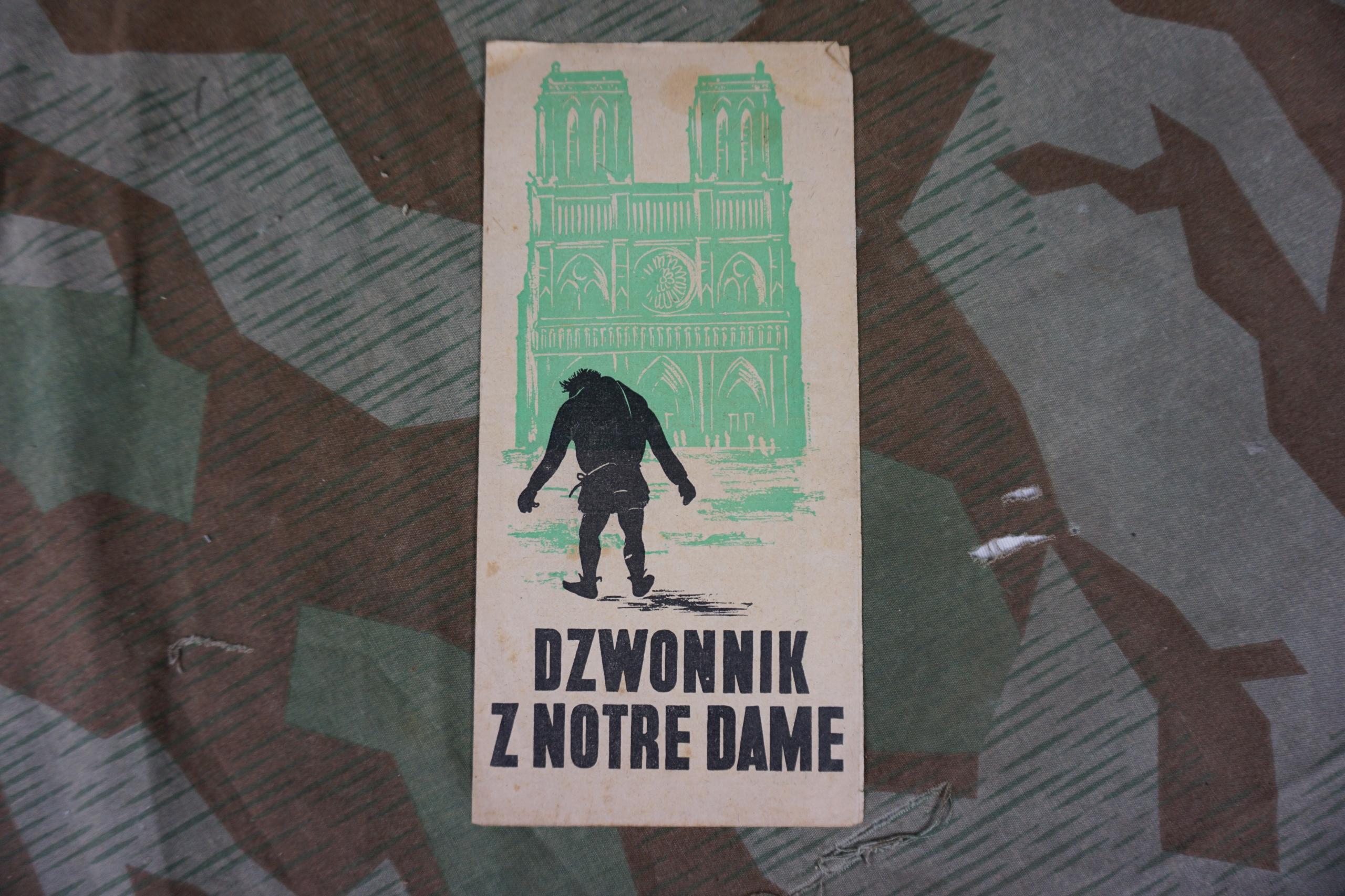 Dzwonnik z Notre Dame 1939 ulotka filmowa film