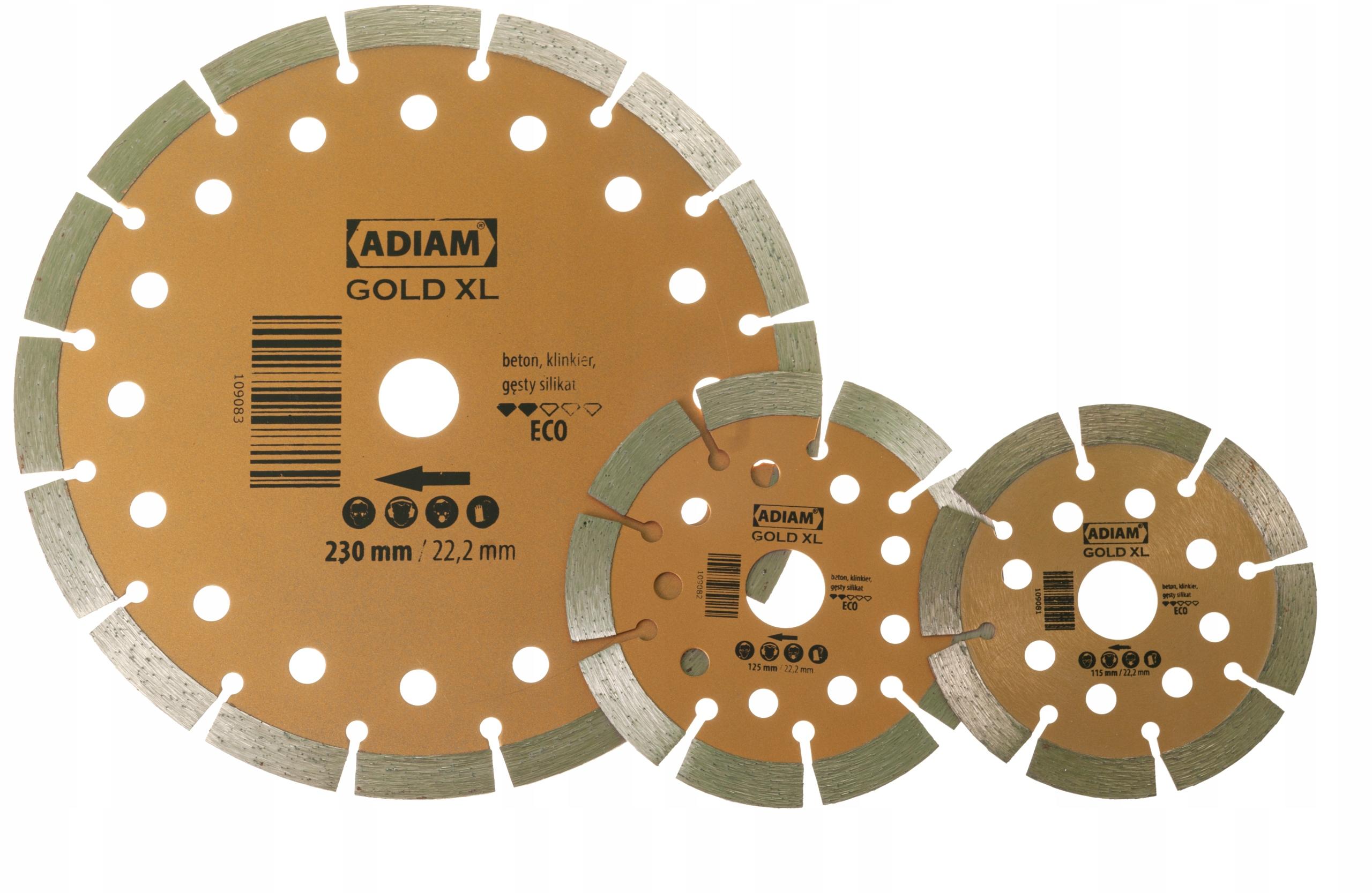 Diamond Shield pre ADIAM GOLD XL 115 mm betón