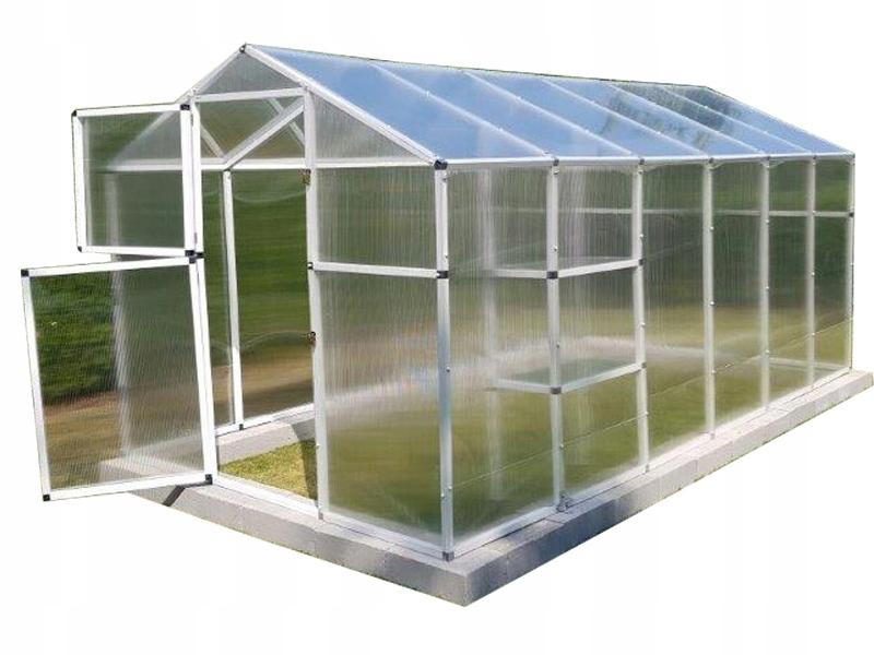 Szklarnia z poliwęglanu ogrodowa 210x400 model2020