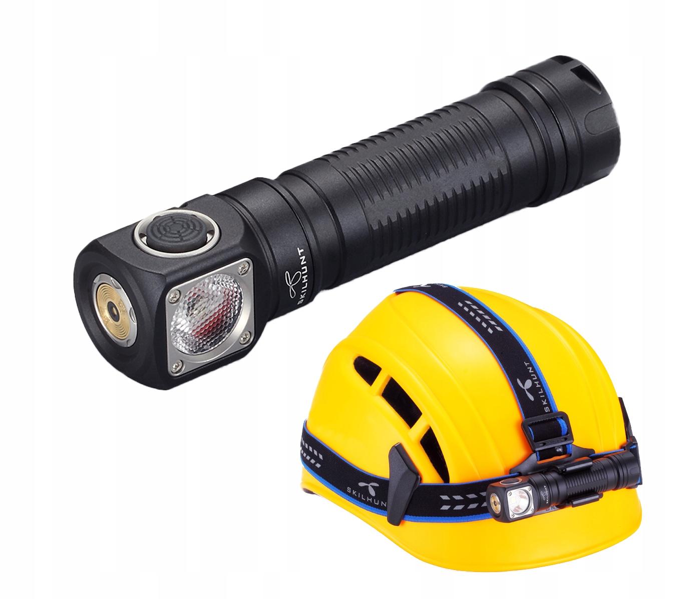 LATARKA CZOŁOWA LED SKILHUNT H04 RC XM-L2 U4 1200L