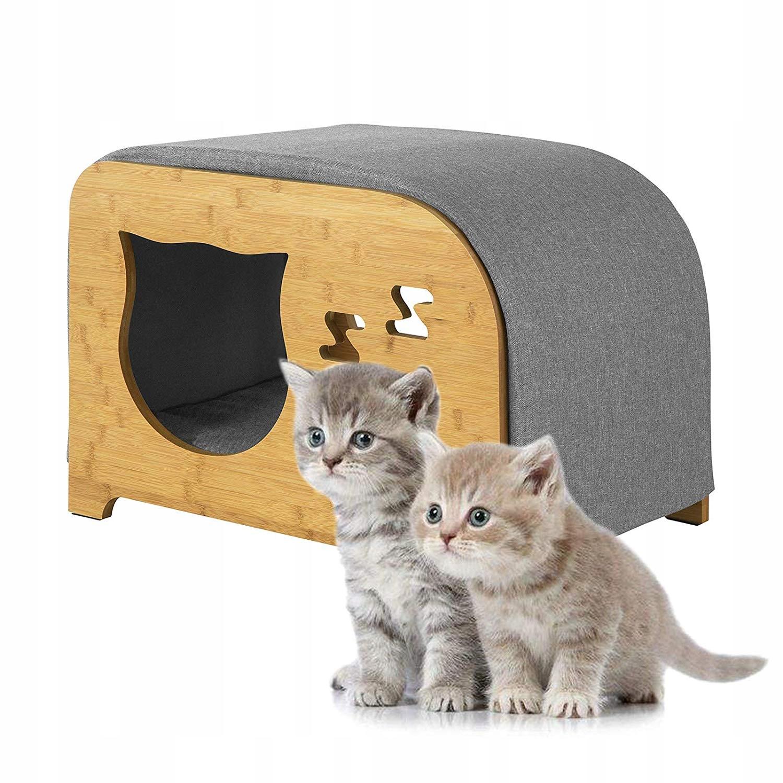 SoBuy FSR72-N Domek dla kotów, legowisko, hoker