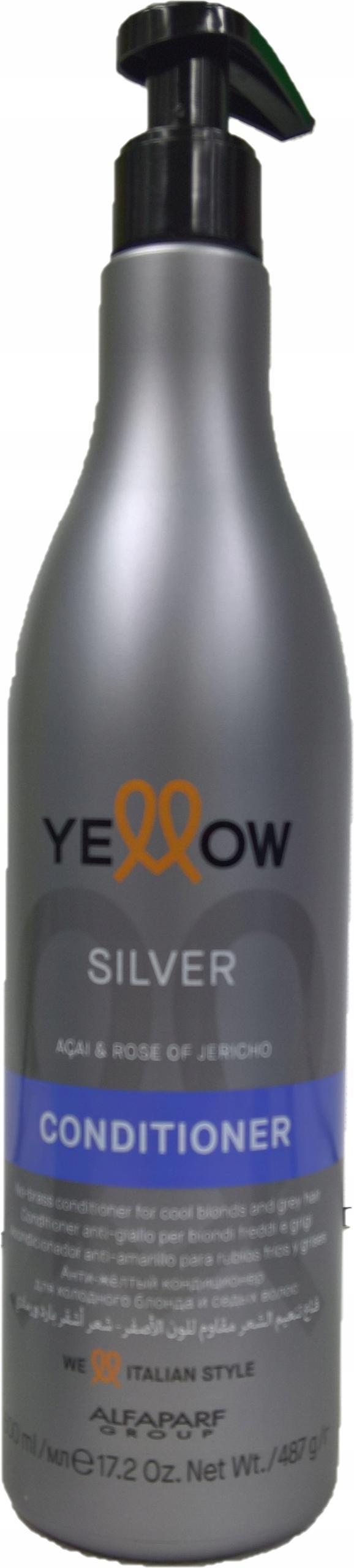 Купить ALFAPARF Yellow Silver КОНДИЦИОНЕР аккаунтом1300 МЛ на Eurozakup - цены и фото - доставка из Польши и стран Европы в Украину.