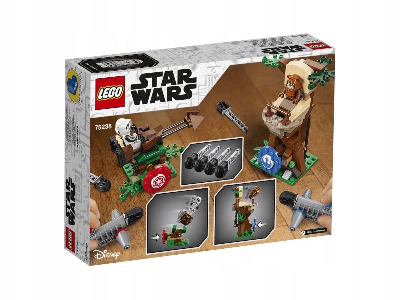 LEGO STAR WARS 75238 BITWA NA ENDORZE Płeć Chłopcy Dziewczynki