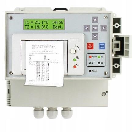 регистратор температуры термографом dr400