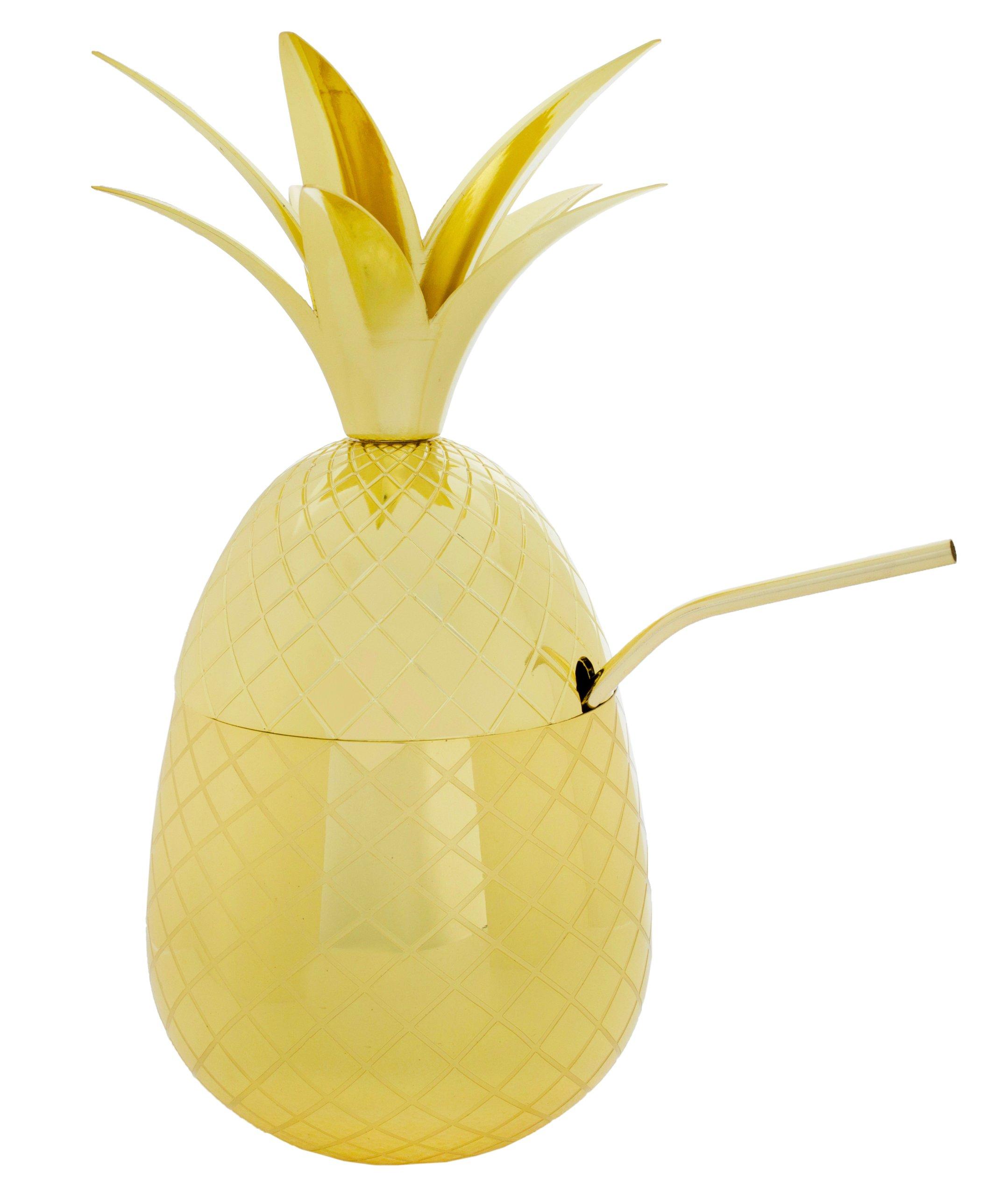 Ananas Rysunek hit ananas metaliczny 900ml pineapple drink -złoty