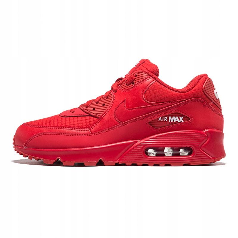 Nike Air Max 90 Czerwone buty do biegania Roz.36 8871321367