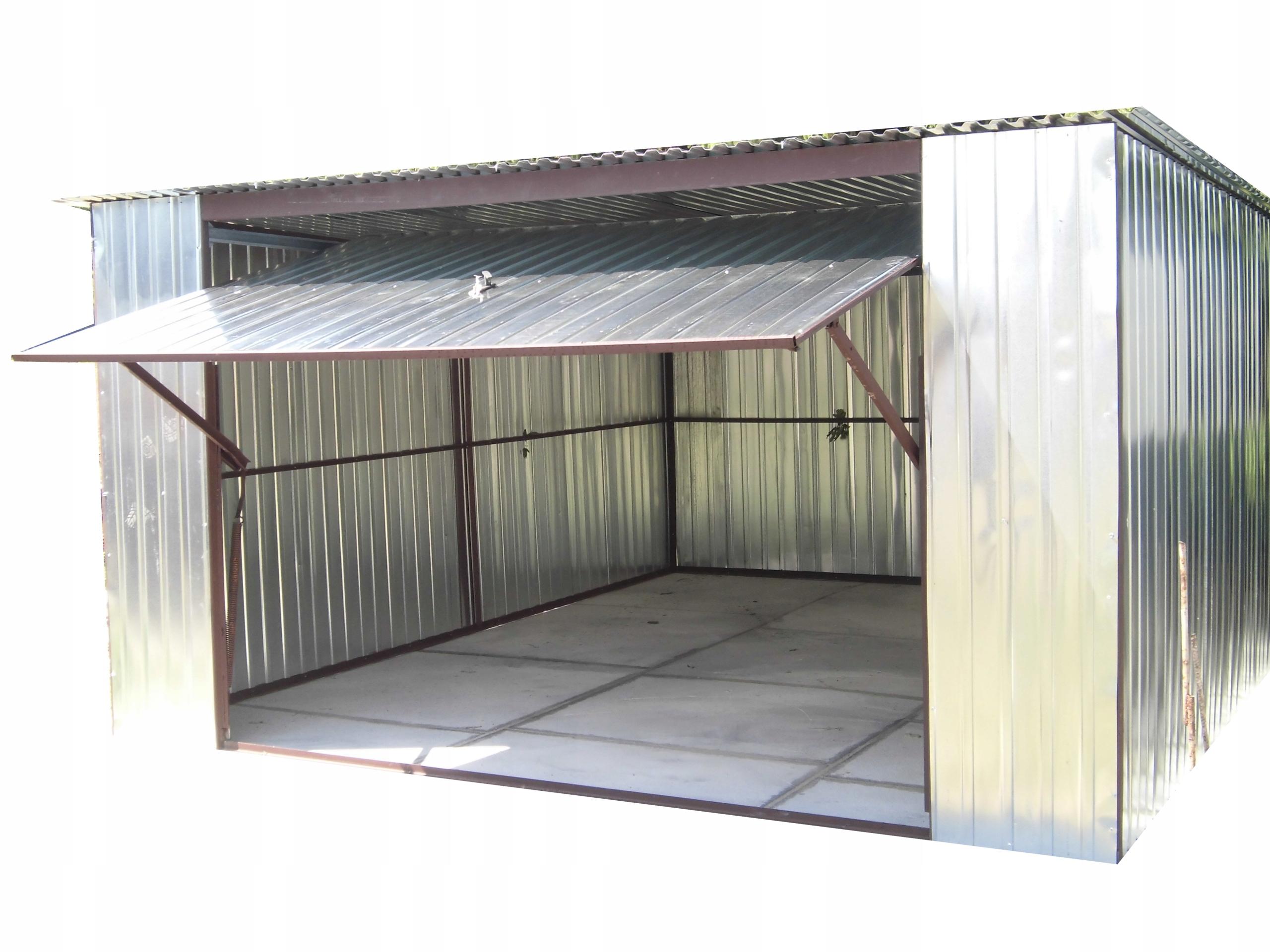 Гаражи жестяные гараж железный 4х5 среднеподвесные ВОРОТА