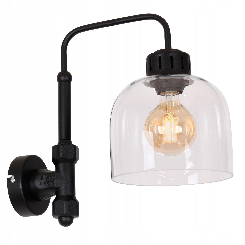 Svetlo sconce kovové loft retro black BRIT 0673 L