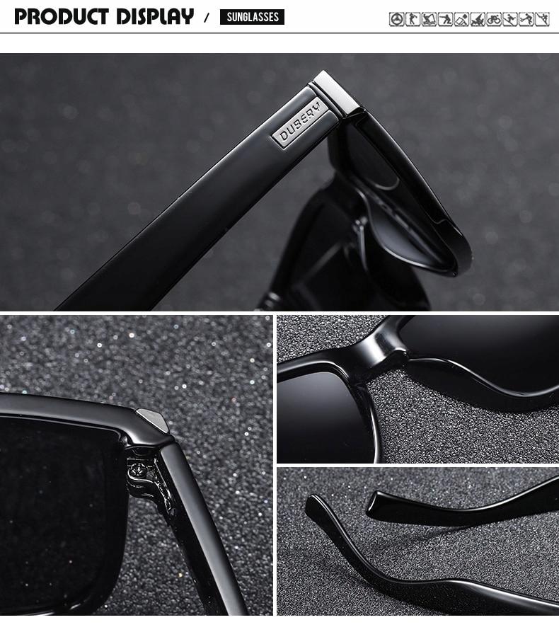 okulary przeciwsłoneczne DUBERY premium UV400 24h