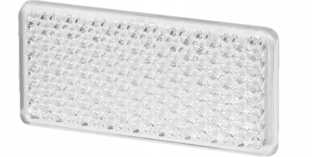 отблеск прямоугольный на ленту белый up-60ts 10 шт