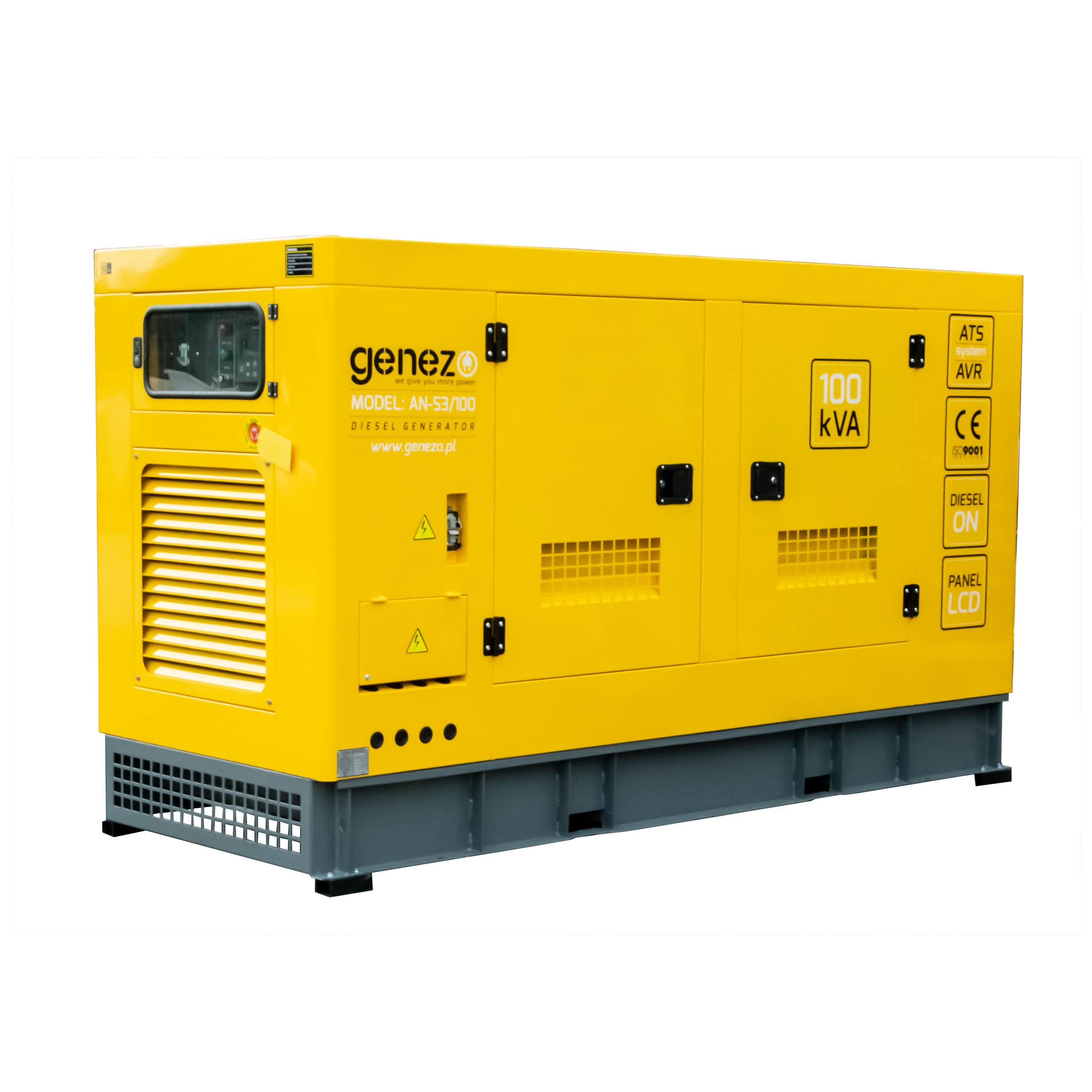 Agregat prądotwórczy Genezo 75 kW 100 kVA 400V