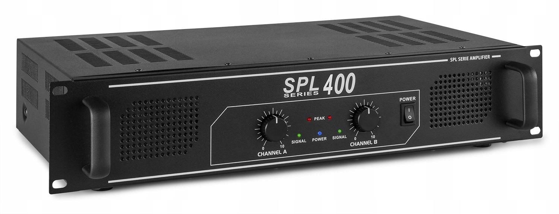 Zosilňovač napätia 2X 200W SKYTEC SPL 400