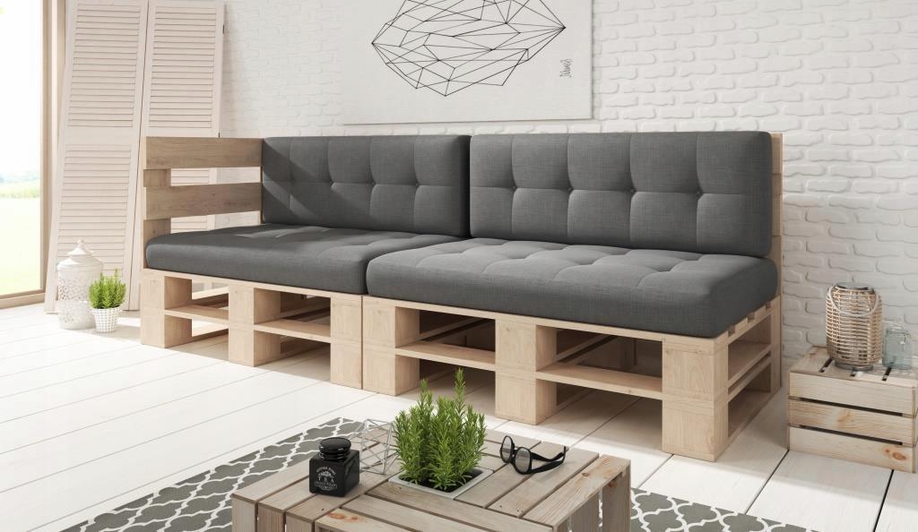 Rohový nábytok, drevené palety záhradný nábytok
