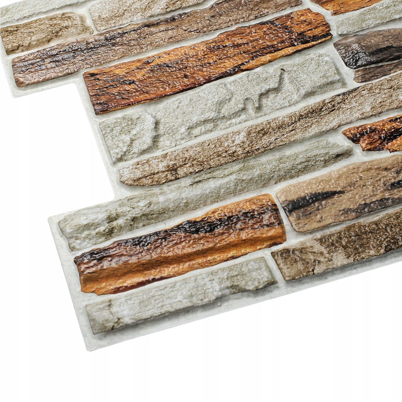 Ścienne Panele Giblartar 3D PCV Kamień Naturalny
