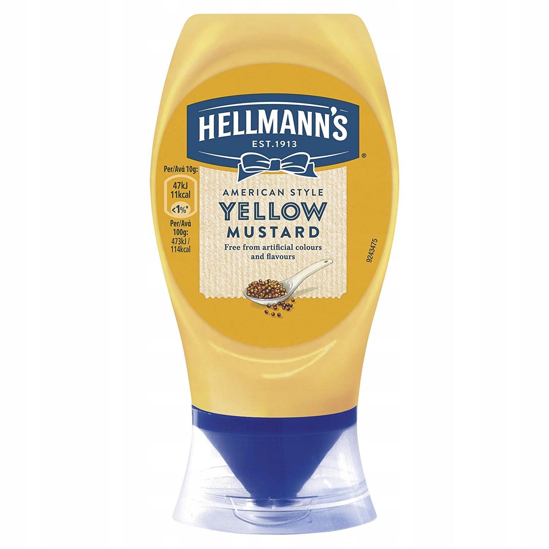 Купить HELLMANNS желтый MUSTARD  ГОРЧИЦА ЖЕЛТАЯ насекомым МЛ на Eurozakup - цены и фото - доставка из Польши и стран Европы в Украину.