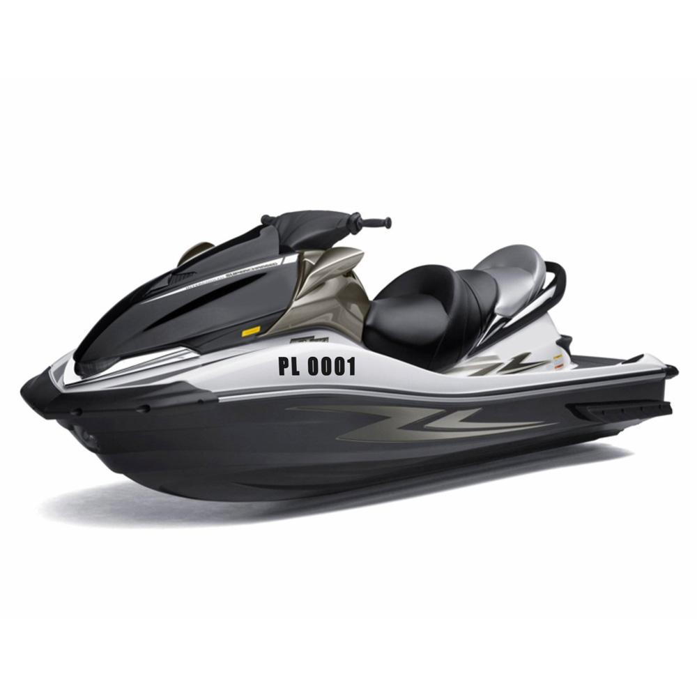номера регистрационный залезай лодка скутер водонепроницаемый