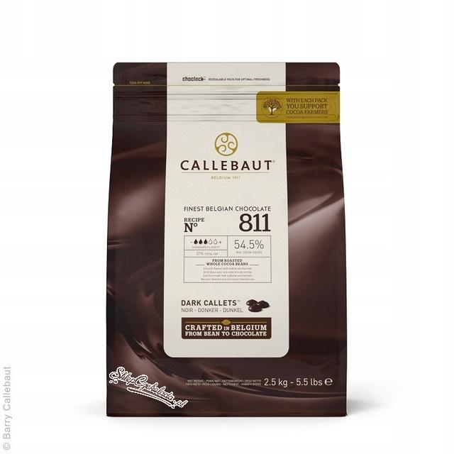 Deserowa Belgickej čokolády Callebaut 811NV