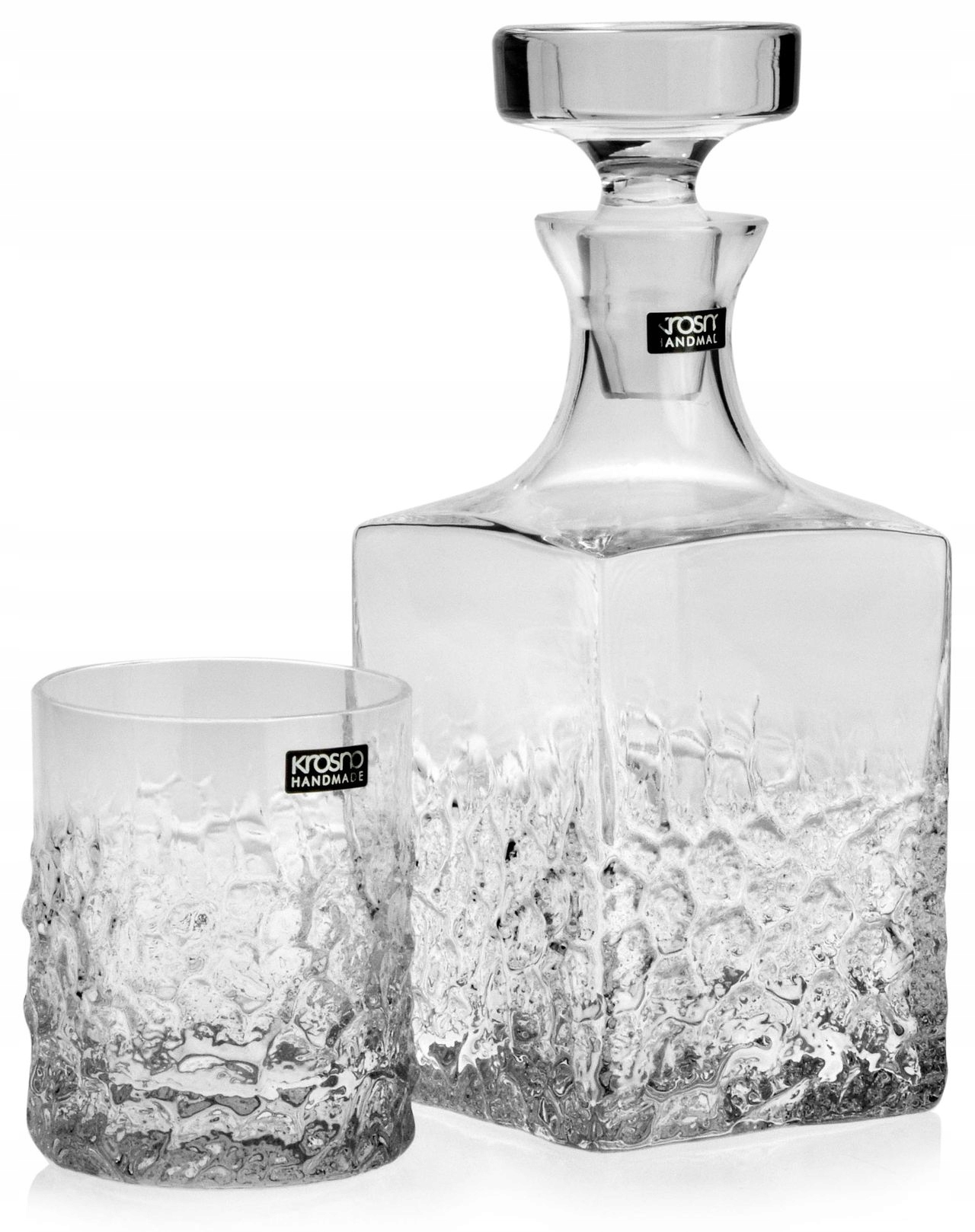 Nastaviť whisky fľaši + okuliare KROSNA Teroso