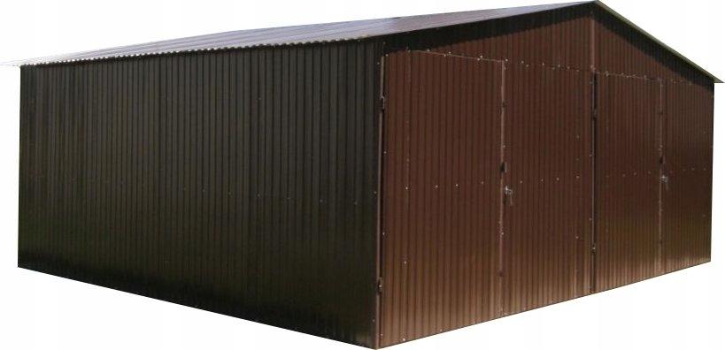 Tin Garages 6x5 Tin Garages КОРИЧНЕВЫЙ фронтон