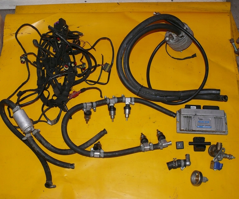 установка снг газ tech-316 v6 6 цилиндров